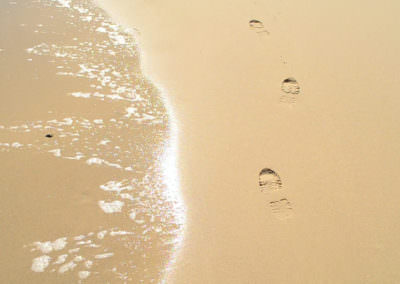 Leave only footprints.