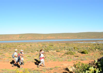Hikers and the Olifants River.