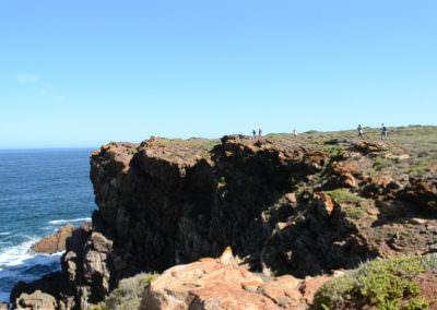 Exquisite cliff vistas.