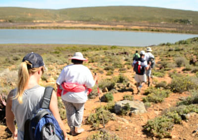 Hikers and Olifants River.